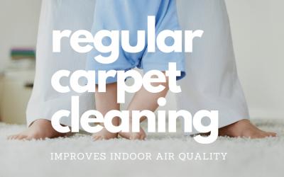 Regular Carpet Cleaning Improves Indoor Air Quality