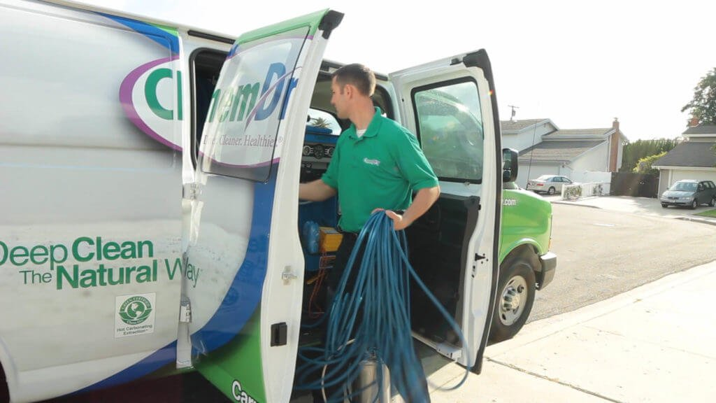 carpet cleaning technician from grace chem dry in columbia south carolina