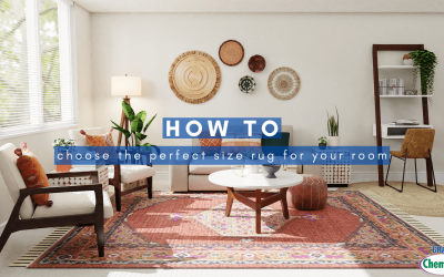How To Choose The Perfect Size Rug For Your Room